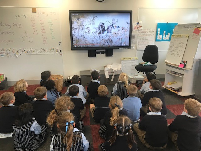 As a part of #NRW2020 students are learning about the importance of National Sorry Day. Year 1 students are learning by engaging in Indigenous Story Time. If you'd like to watch, you can do so too at https://t.co/VOkyI0Fniu