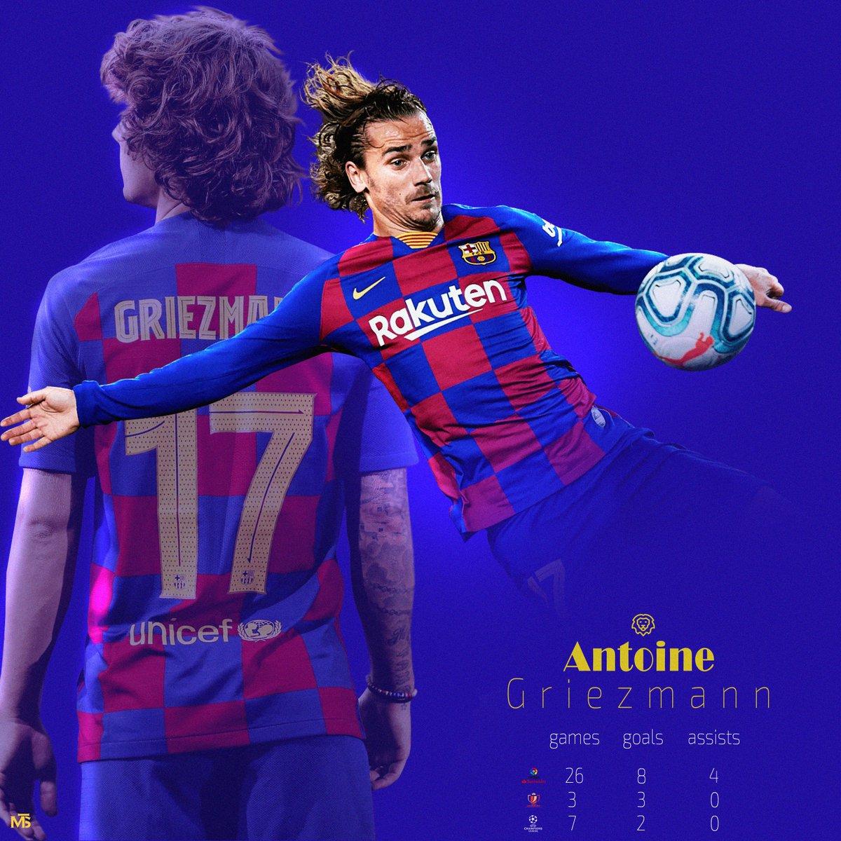 #Griezmann stats this Season so far  #barcelona #FCBarcelonapic.twitter.com/GQrSfqHVGn