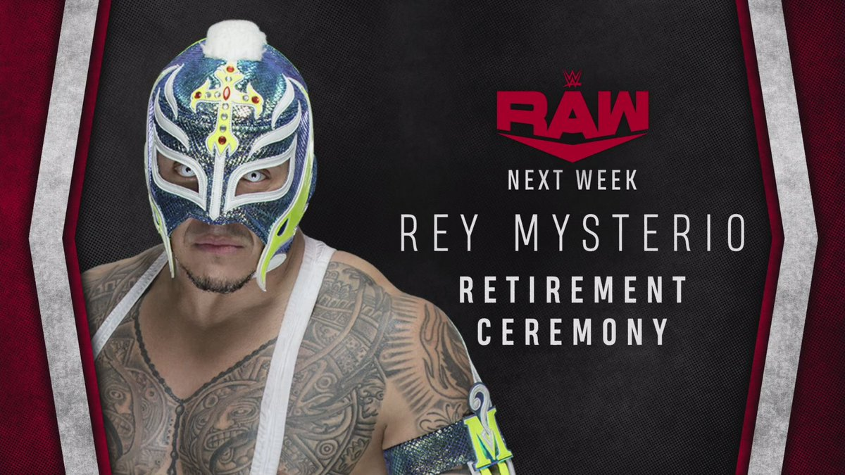 Retirement Ceremony Revealed For Next Week's RAW, Seth Rollins Vs. Aleister Black Announced