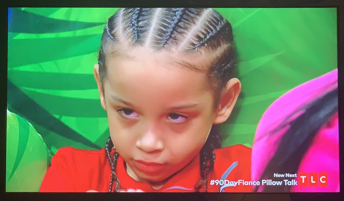 Anny: Mommy have a baby in the stomach Bryson: Damn Dad, another fucking kid? #90DayFiance #90DayFianceWhatNow <br>http://pic.twitter.com/lIVCUaiPNw