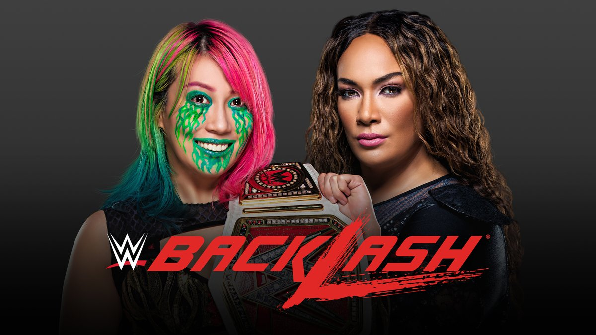 IT'S OFFICIAL!   Can @WWEAsuka overcome @NiaJaxWWE when they battle for the #WWERaw Women's Championship at #WWEBacklash? https://t.co/0zcprl6ZMa