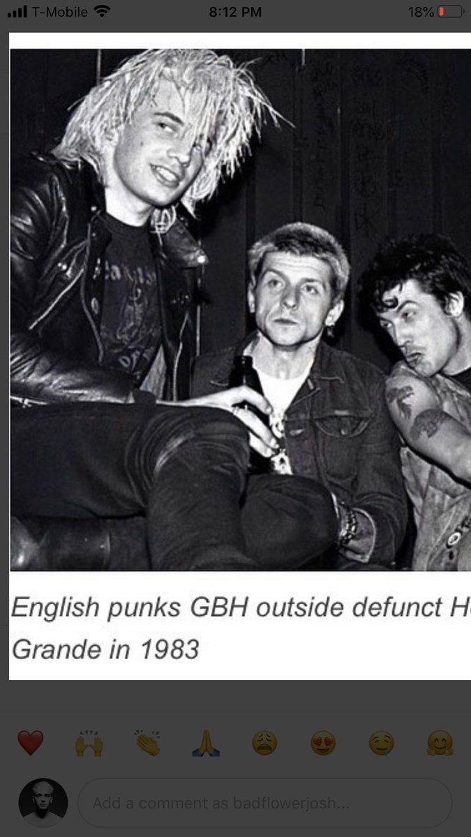 Guys. GUYS. Someone on Instagram pointed out that I look exactly like the singer of the 80s punk band BGH and now I'm questioning my entire existence. Is this my secret biological father? Did this guy get cloned to create me? Am I a vampire? Like, that's my face https://t.co/vqfxvD34im