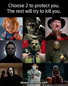 I'm going with #jasonvoorhees and #michaelmyers #horrotica #horrorfamily pic.twitter.com/HJMPb0lBon