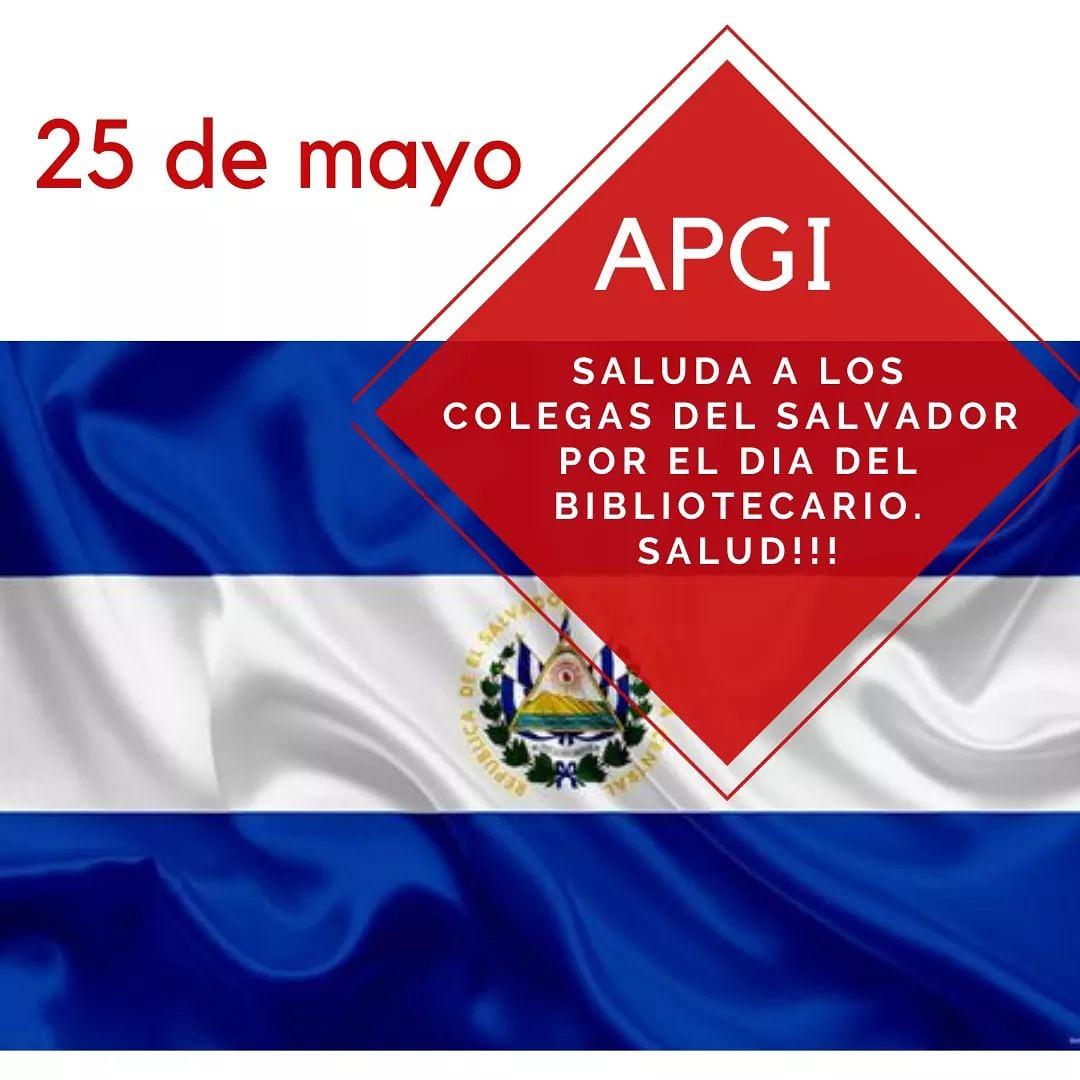 APGI saluda a todos los colegas de el Salvador en su día. https://t.co/CICwxItfXM