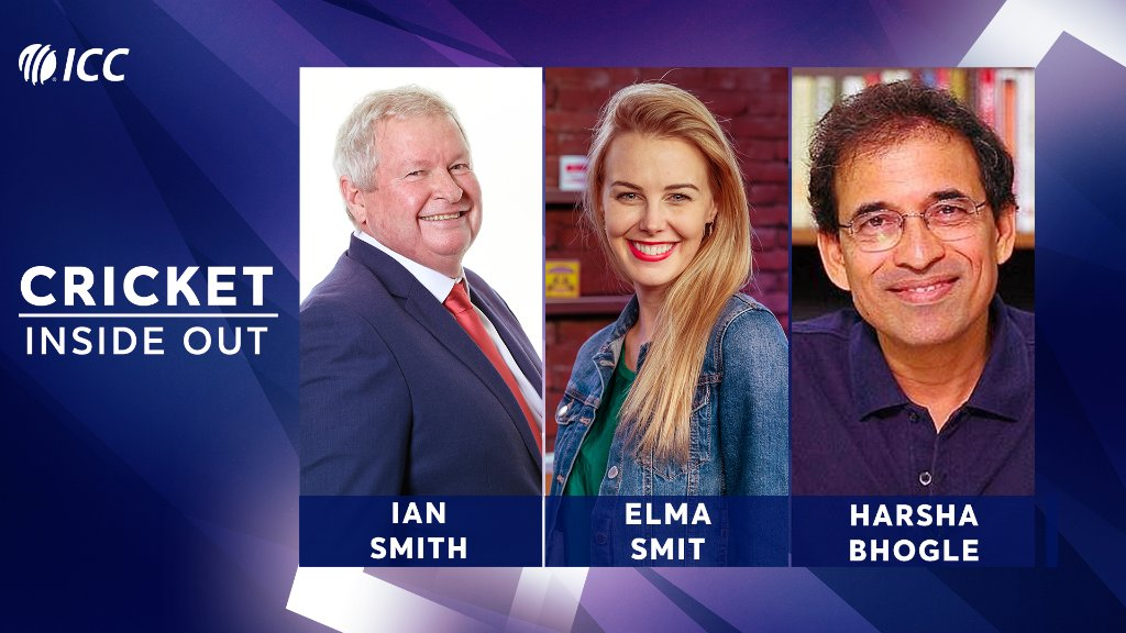 Ian Smith and Harsha Bhogle will join @Elmakapelma in the next episode of Cricket Inside Out 🏏 Have questions for the duo? Post them below 👇