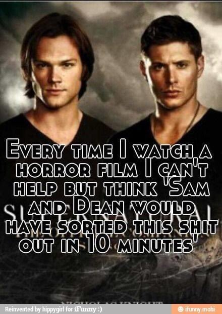 Maybe not ten minutes, but they would get there and then risk Armageddon to save each other! #supernatural #samwinchester #deanwinchester #horrotica #horrorfamily pic.twitter.com/5q7q2u8tlH