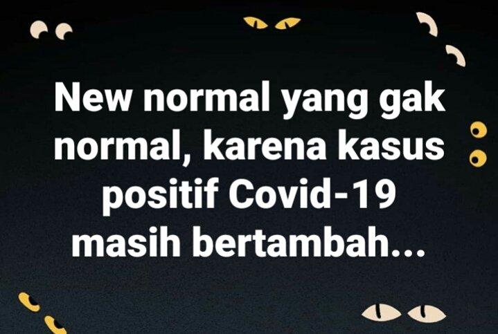 Umumnya negara2 lain menetapkan #NewNormal setelah memastikan gak ada lagi kasus Covid-19 baru yang terjadi... keselamatan warga jadi pertimbangan utama sebelum menerapkan apa yang disebut new normal...  New normal dengan pertimbangan ekonomi adalah new normal yang gak normal... https://t.co/GeyZzSoTfm