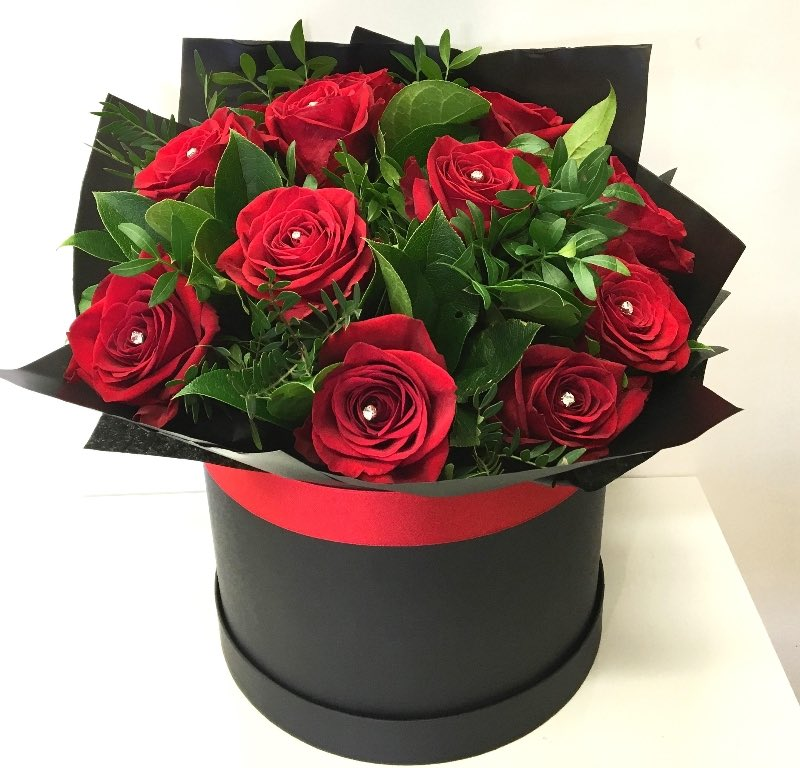 Roses (Red) - mean that you are ready for commitment, and have a deep passion for that person.<br>http://pic.twitter.com/iNDFXua8m1