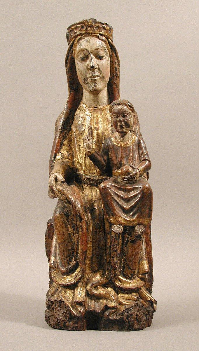 Virgin and Child  #MedievalArt #themet
