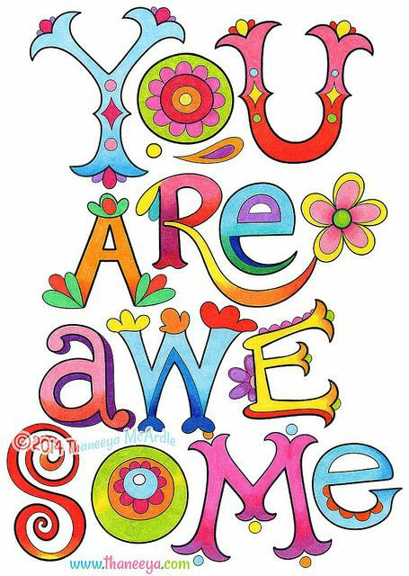 YOU are #awesome!!!  Have a terrific day #pinksocks pic.twitter.com/aQTk7eZYZg