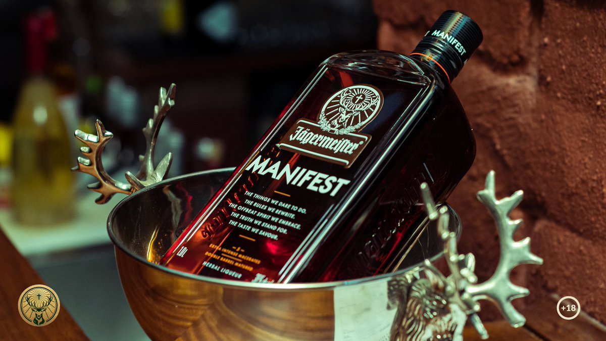 A Meister is embodied by intrinsic boldness, craft, passion, authenticity, and disruptiveness, and we leveraged each of these with persistence and precision to produce a particularly perfect product. Meet Manifest. #JägermeisterSA