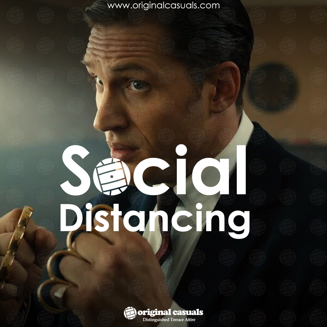 Day 71...Social Distancing  #TuesdayThoughts  #SocialDistancing  #TheKrays #violenza #Tshirts #Casuals #football #SubCulture #stayingcasual #BeSafe #FCKCVD19 #OriginalCasualspic.twitter.com/tKm4aLVuWD