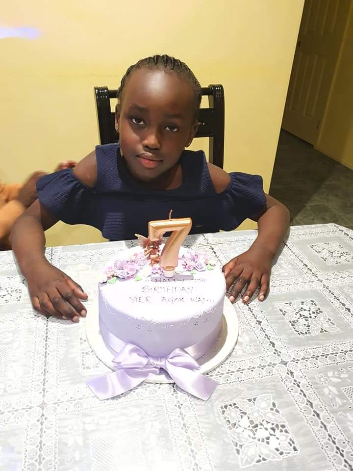 Happy 7th birthday to my Princess Yier Agok, the calmer and funniest in the family. https://t.co/5OeragTPI1