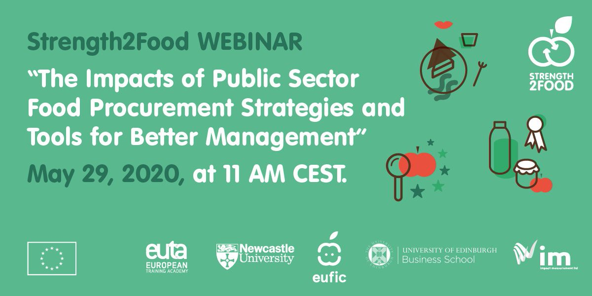 🍽️👦🏽How can we reduce #foodwaste in schools? Join the #Strength2Food webinar this Friday at 11 AM CEST to learn more about: 📌The Impacts of Public Sector Food Procurement Strategies 📌Meal Analyser Tool 📌Menu & Procurement Planning Tool Register now➡️ workcast.com/register?cpak=…