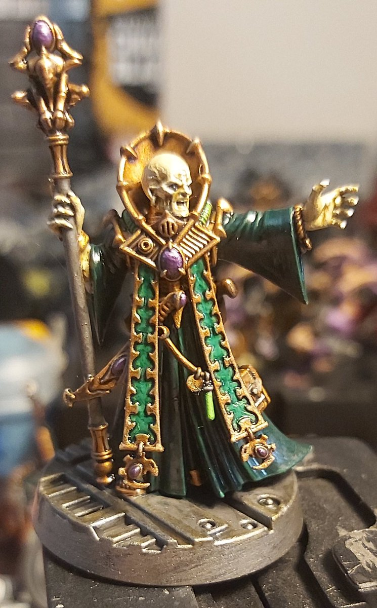 Magus du GENESTEALER Cults-gussrahmen