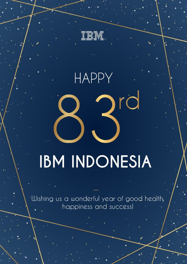 Today mark #IBMIndonesia present for 83 years in #Indonesia and we look forward to contribute more to the country with our technology and continuous innovation. In this current hard situation, hoping everyone to stay safe and healthy always!! pic.twitter.com/7xpVzJipQA