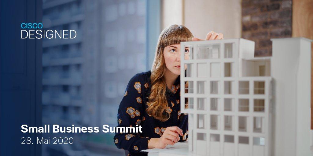Nicht verpassen! Noch 2 Tage bis zum Small Business Summit! 🚨 Jetzt anmelden und neue Geschäftsmöglichkeiten mit uns im KMU-Segment erobern: cs.co/6017G6HSf #SmallBusiness #CiscoPartner @Comstor_DE @IngramMicroInc @TechDataEurope