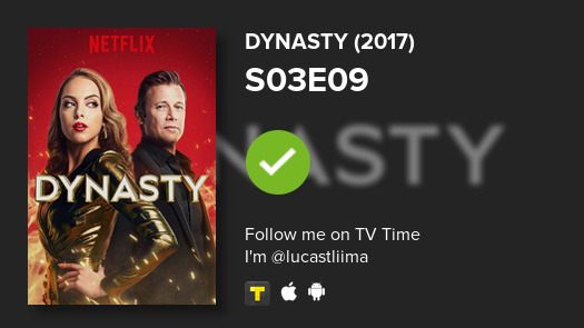 I've just watched episode S03E09 of Dynasty (2017)! #dynasty  #tvtime https://t.co/FaaYemlwjf https://t.co/9d4Ij5Y0YA