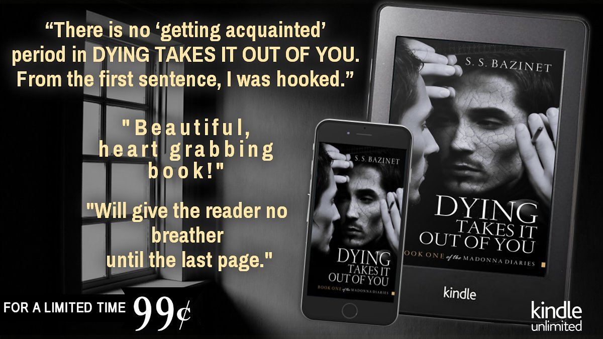 """〰️▪️DYING TAKES IT OUT OF YOU▪️〰️ https://t.co/268HvWnpFr  """"The author's writing is quick, concise and brilliantly fast paced.""""  """"Honestly, I could not put this one down at all! What a fantastic job!""""  """"Story of love and devotion between brothers.""""  #Review #Dystopian #Selfworth https://t.co/MclHmX65XT"""