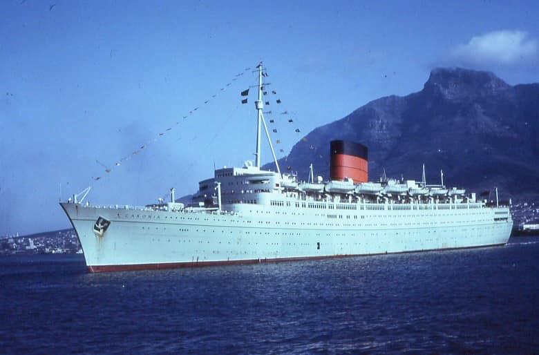 Caronia 1947 34,183 #Cunard-White Star Line from John Brown, Clydebank Columbia 1968 Universal Line Caribia 1968 Universal Line Sank #Guam 1947 en route to breakers #shipsinpics #CapeTownpic.twitter.com/WiXk7rkyxh