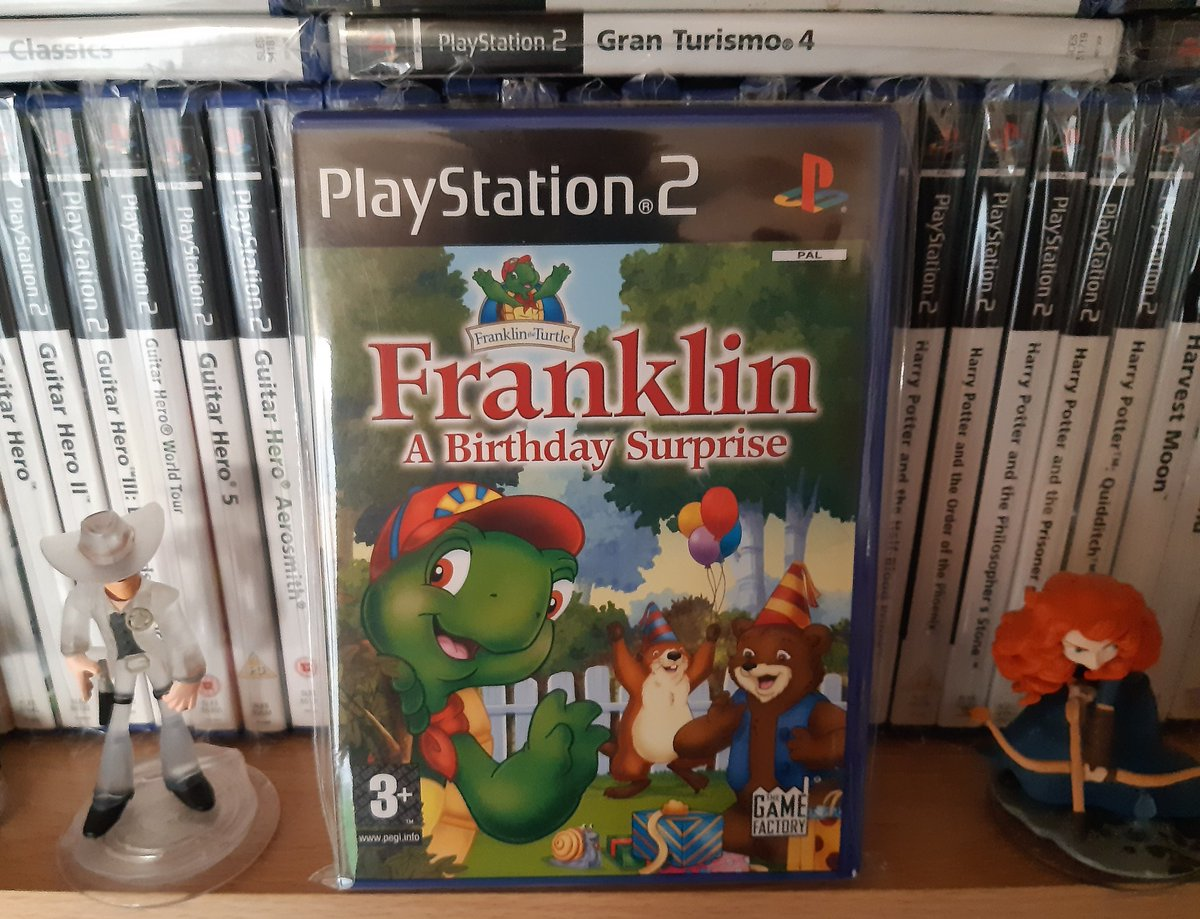 Oh my, 45 today! I'm not sure how the eyes are holding up so going to drive over to Franklin's later to make sure they're okay 😁  #PS2sDay https://t.co/NUsvPmJuZ7