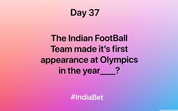 Day 37!   Comment the right answer & win 3000 IBR!   #ContestAlert #SportsNews #SportsQuiz #FootballMen  #IndianFootBall #MobileGames https://t.co/NsJPYhOx9s