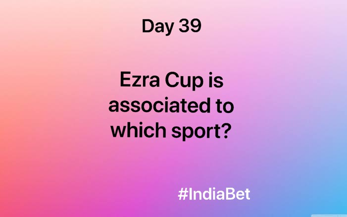 Day 39!   Comment the right answer & win 3000 IBR!   #ContestAlert #SportsNews #SportsQuiz #EzraCup #MobileGames #Gaming https://t.co/fGZ5bKOOl3