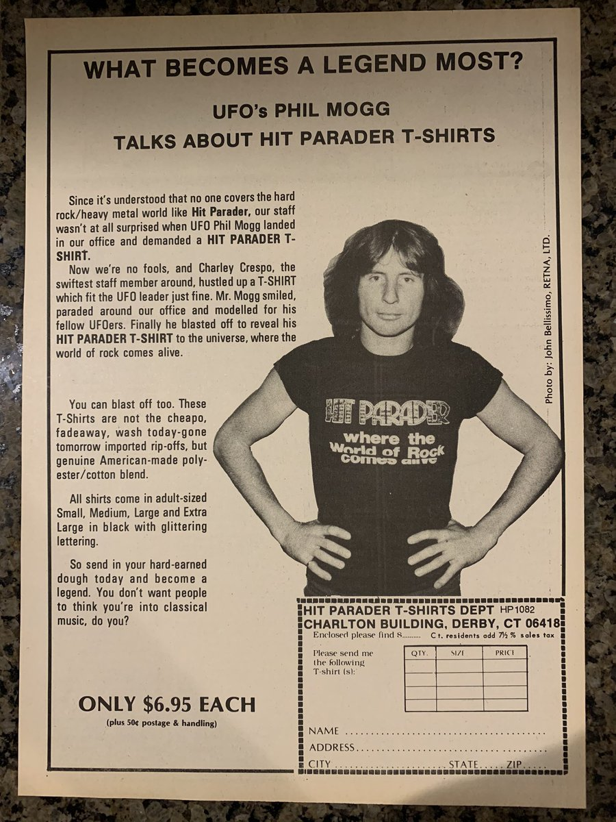 PHIL MOGG is a LEGEND !!! #HitParader#Cream#TShirt pic.twitter.com/J7c3YkFvB5