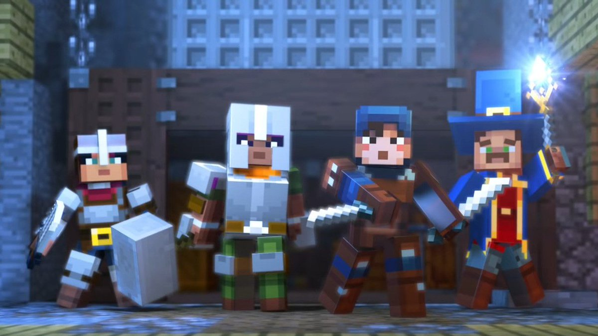 The First Two DLC Packs For Minecraft Dungeons Might Have Been Leaked https://t.co/VJLPXEf94q #MinecraftDungeons #XboxOne #DLC https://t.co/Mmb1DzF2Ir