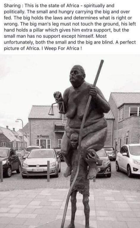 I have a dream that one day we shall have equal opportunities in #Africa pic.twitter.com/umyUY8TwIR