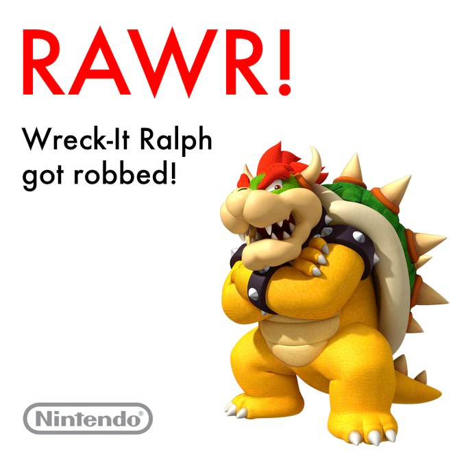 And now, a special message from Bowser... #Oscars pic.twitter.com/HOHC5z5h6p