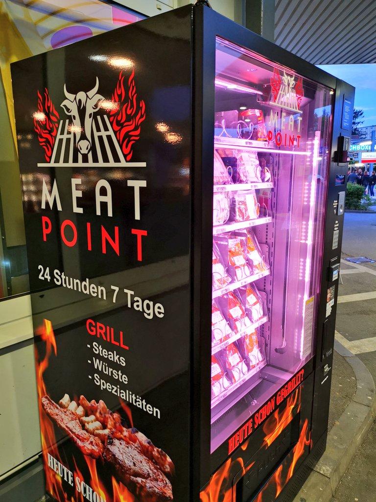 #Fleisch kaufen in Zeiten von #Corona.... #meat #meatpoint #Automat #grillen #BBQ