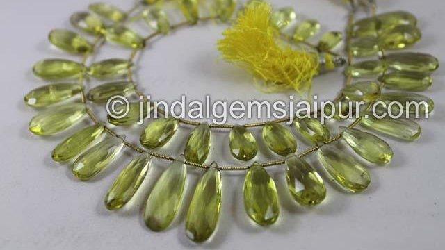 #lemon #quartz Faceted Elongated Pear at Just $30😍 Order:  Call: +91-9929188601 Visit:  #gemstones #jewellery #gems #jewelry #gemstone #beads #fashion #JewelryDesigner #jewelryaddict #jewelrytrends #jewelrydesign #goldprice #Silver