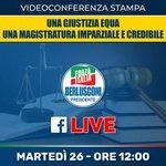 Image for the Tweet beginning: Forza Italia da sempre combatte