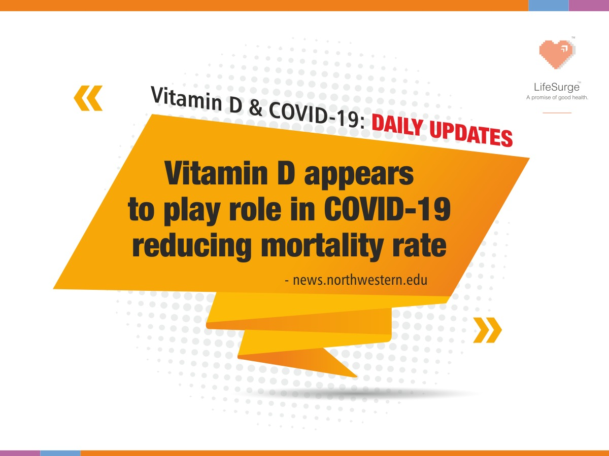 Brought to you by Sunsurge (Vitamin D3) from LifeSurge Biosciences Pvt Ltd. This is for your information only and you need to consult your doctor before using this product.   https:// news.northwestern.edu/stories/2020/0 5/vitamin-d-appears-to-play-role-in-covid-19-mortality-rates/  … <br>http://pic.twitter.com/gbehO74POD