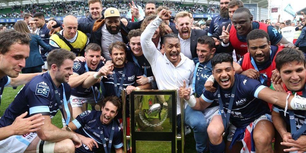 26 mai 2019 - Il y a tout juste un an, l'Aviron Bayonnais décrochait le titre de Champion de France de #ProD2. 👏 #rugby #bayonne #paysbasque 📷JD.Chopin https://t.co/aHByyofchy