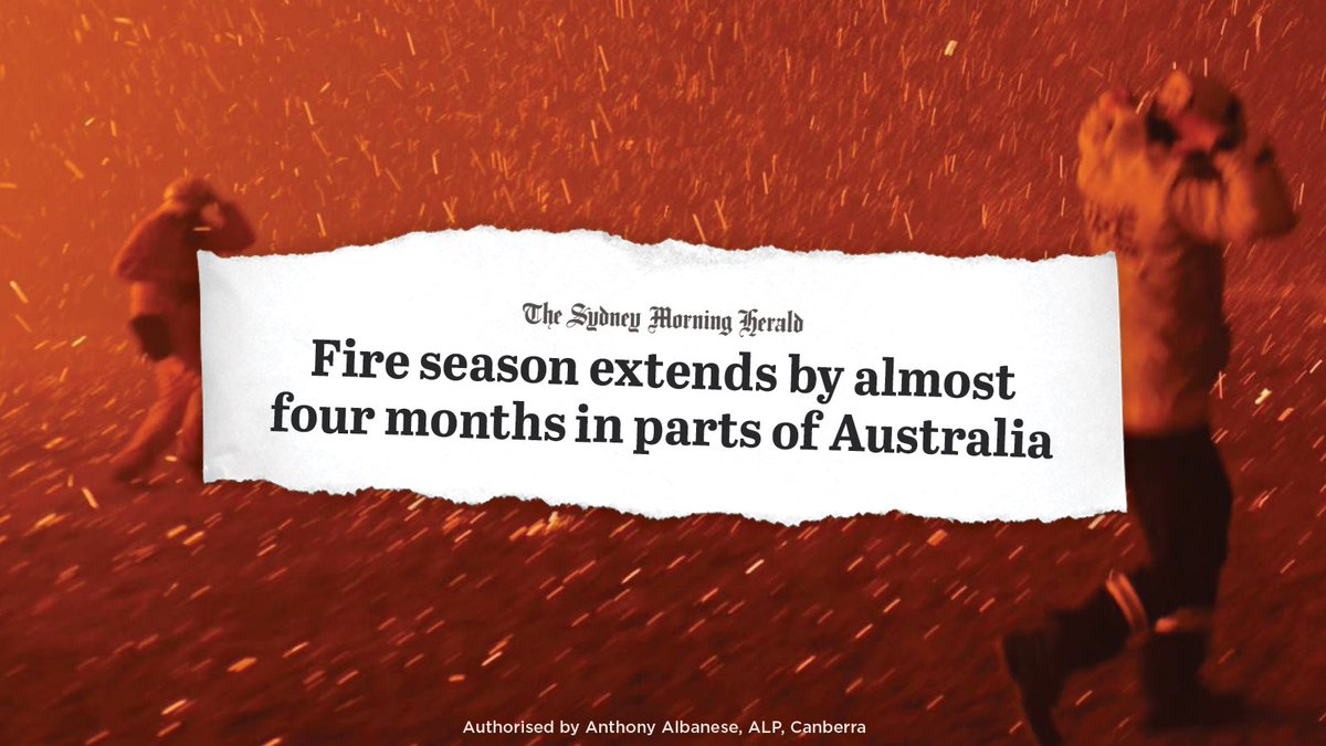 Bushfire seasons are getting longer and more intense.  We've listened to the science during coronavirus.  We need to listen to the science on climate change.pic.twitter.com/IqP0uOZ0jQ