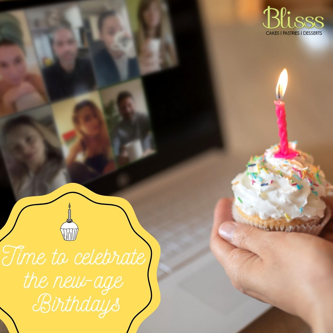 Celebrate birthday in a new way by staying at home and still connecting with relatives and friends on a video call.  #Covid19 #CoronaVirus #CoronaVirusOutbreak #Lockdown #quarantine #BlisssBakes #BlisssCakes #Brownie #Cake #Dessert #Yummy #Delicious #YummyInMyTummy #Foodpic.twitter.com/sNxlHHtAMc