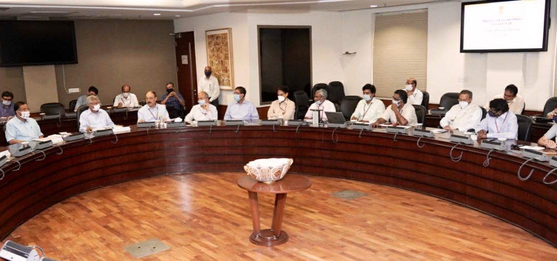 Just concluded a detailed review meeting of #VandeBharatMission. Thank Team MEA, @MoCA_GoI, DMA, @airindiain, MHA, Bureau of Immigration for their participation and contribution. Focus of meeting was to ramp up the scale of #VBM and enhance its efficiency.