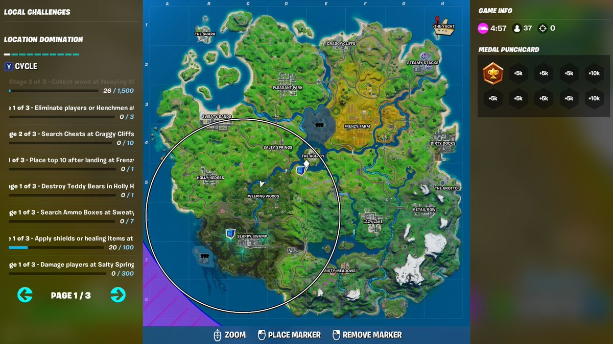 Storm Circle Fortnite Streakyfly Fortnite News On Twitter Storm Circles Are Currently Broken Or Do You Think It S Intentional