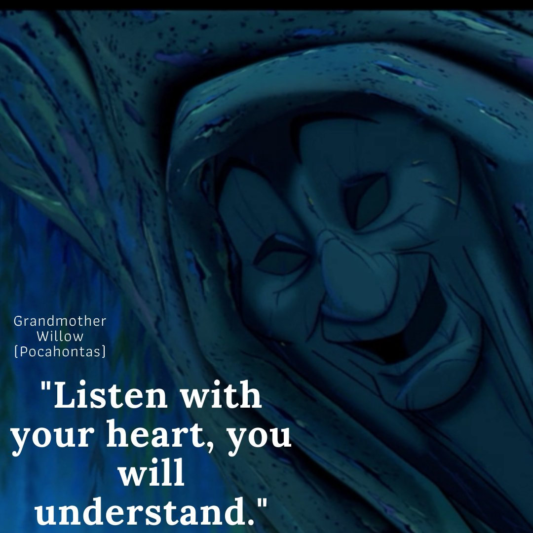Listen with your heart.... There's loads more great quotes from characters on our website - https://bit.ly/3flBTI3  #inspiration #successfulpeople #createsuccess #inspirationaltips #inspirationdaily #believeinyourself #northantsblogger #kidsparties pic.twitter.com/3y0Z8AoPRI
