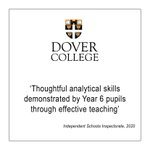 Delivery of a creative curriculum across the Prep School ensures our pupils #thinkdifferently.  https://t.co/CRQHUkTDpv  @EdisonLrngUK #creativecurriculum #prepschool #thinkdovercollege