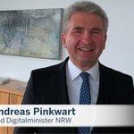 Image for the Tweet beginning: Minister @a_pinkwart @WirtschaftNRW sendet wichtige