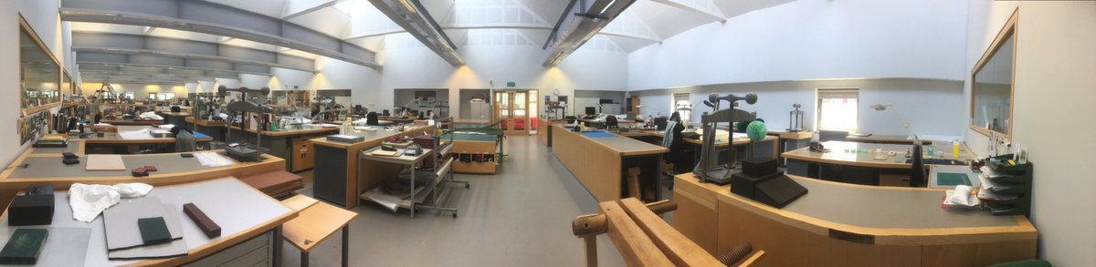 We're taking inspiration from #MuseumFromHome and @BodCons and sharing what our conservation team have been up to from home. Our studio may be empty but we're still busy! Keep reading this thread to see what we've been doing.