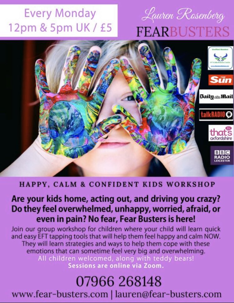 #class #happy #calm #confident during #COVID__19 for #children @mhtodaymag @PositiveKidsUK @TogetherMW @PRJournoRequest