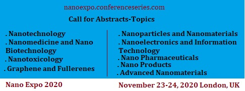 Short #Session on #Nanotechnology in #Tissue #Engineering at #Nanotechnology & #Expo during #November 23-24, 2020, #London #UK Join us  Mail: nanoexpo@europeannualconference.com @global_meetings #biomedicalengineering #biotechnology #chemicalengineer #nano