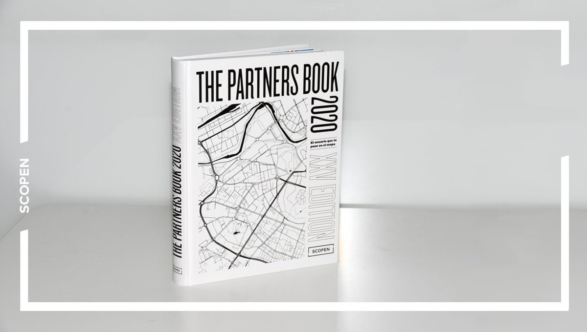 25th edition of #THEPARTNERSBOOK Spain with all clients, teams and services of the best #marketing & #communication partners for #Brands. This year, cover designed by @agenciakitchen https://t.co/jTOzi28osJ