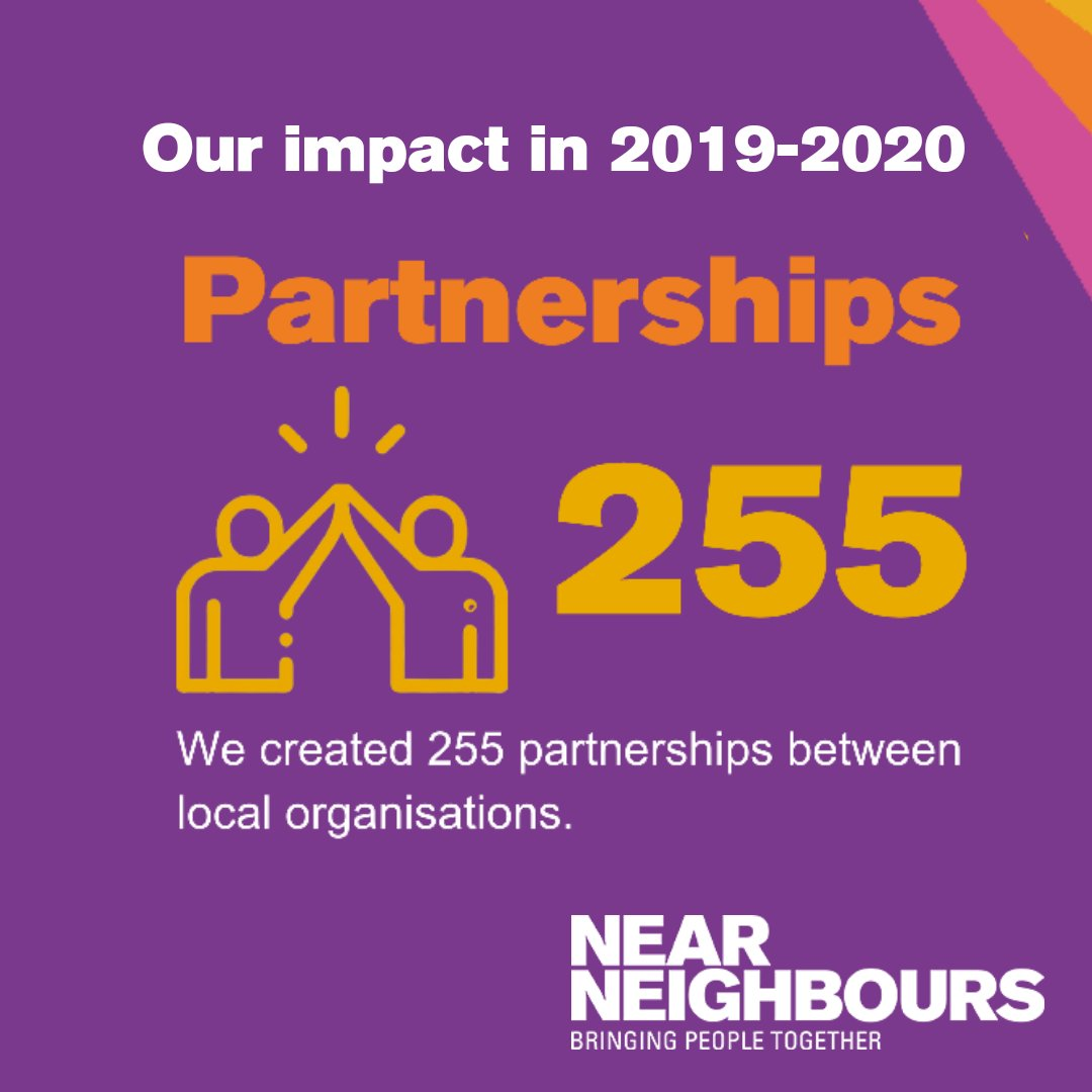 Last year hour local coordinators initiated and supported 255 new #partnership between churches, mosques, synagogues, other places of worship, voluntary sector organisations, statutory agencies, and schools and colleges. More figures about our work here - https://t.co/llW340b5dQ https://t.co/08N2hn94J5