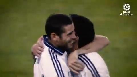 🤍🔙 26/05/2001 🔙🤍  🎉🙌🏻🏆 ¡Hace 19 años, el @realmadrid de Del Bosque ganaba en el Bernabéu su 28° título de #LaLigaSantander! https://t.co/0dFjCfR9vN