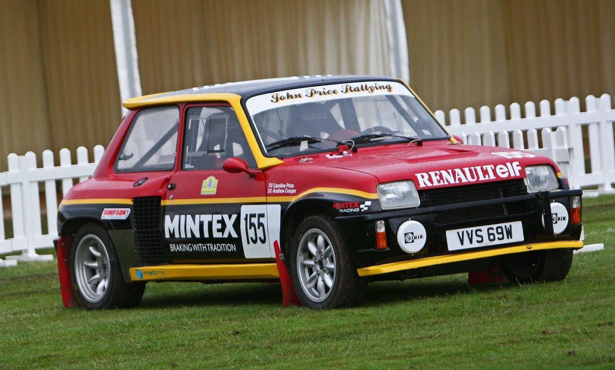 JPR prepared classic Renault 5. A 569 favourite! #renault #elf #mintexpic.twitter.com/bHAARGPQOe
